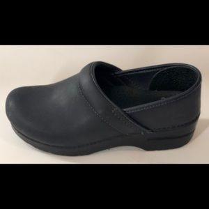 Navy Blue Dansko Professional Clogs